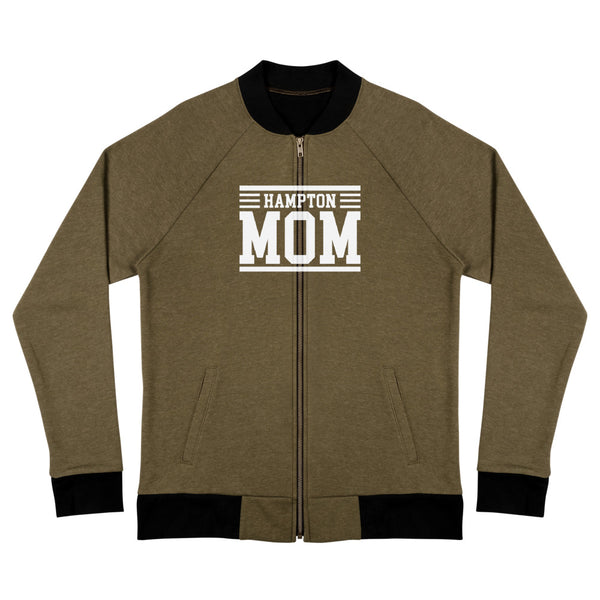 Hampton Mom Bomber Jacket - We Wear Our HBCUs