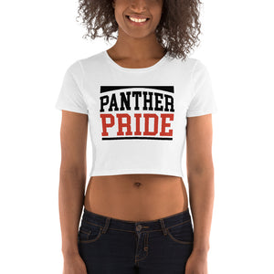 Panther Pride Claflin State University Women's Crop Tee - We Wear Our HBCUs