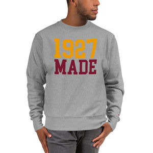 1927 Made Texas Southern Unisex Champion Sweatshirt - We Wear Our HBCUs