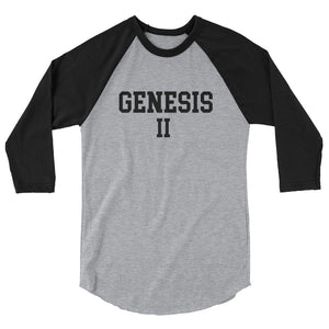 Hampton University Genesis II 3/4 Sleeve Baseball Shirt - We Wear Our HBCUs