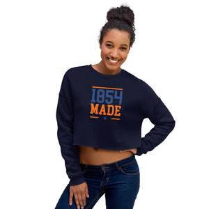 Lincoln University 1854 Made Crop Sweatshirt - We Wear Our HBCUs