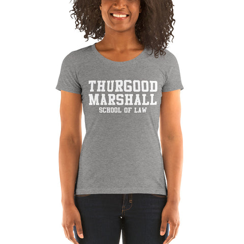 Thurgood Marshall School of Law Women's Tri-Blend Tee - We Wear Our HBCUs