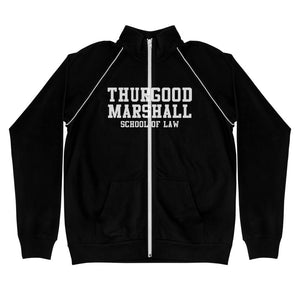 Thurgood Marshall School of Law Piped Fleece Jacket - We Wear Our HBCUs