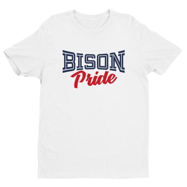 Howard University Bison Pride Women's  Fitting Short Sleeve  T-shirt - We Wear Our HBCUs