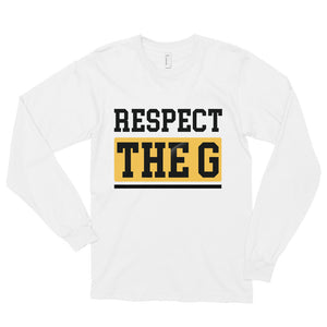 RESPECT THE G GRAMBLING STATE UNIVERSITY  Long sleeve t-shirt - We Wear Our HBCUs