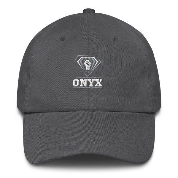 ONYX Fist | Hampton University | Class Name Cotton Cap Dad Hat - We Wear Our HBCUs