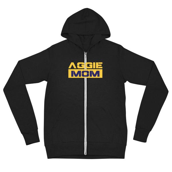 North Carolina A&T Aggie Mom Unisex Form Fitting Hoodie - We Wear Our HBCUs