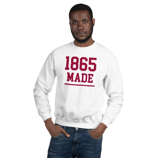 Shaw University 1865 Made Champion Unisex Sweatshirt - We Wear Our HBCUs