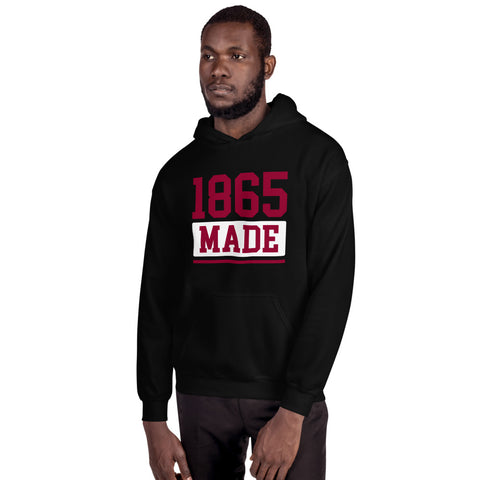 Shaw University  1865 Made Champion Unisex Hoodie - We Wear Our HBCUs