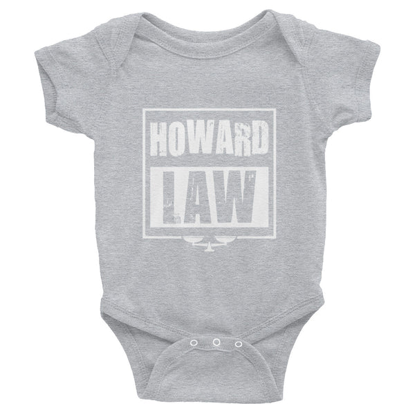 Howard Law  HUSL  Howard University School of Law  Infant Bodysuit - We Wear Our HBCUs