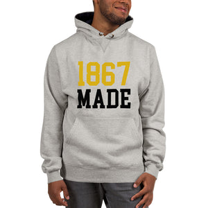 Alabama State University 1867 Made Champion Hoodie - We Wear Our HBCUs