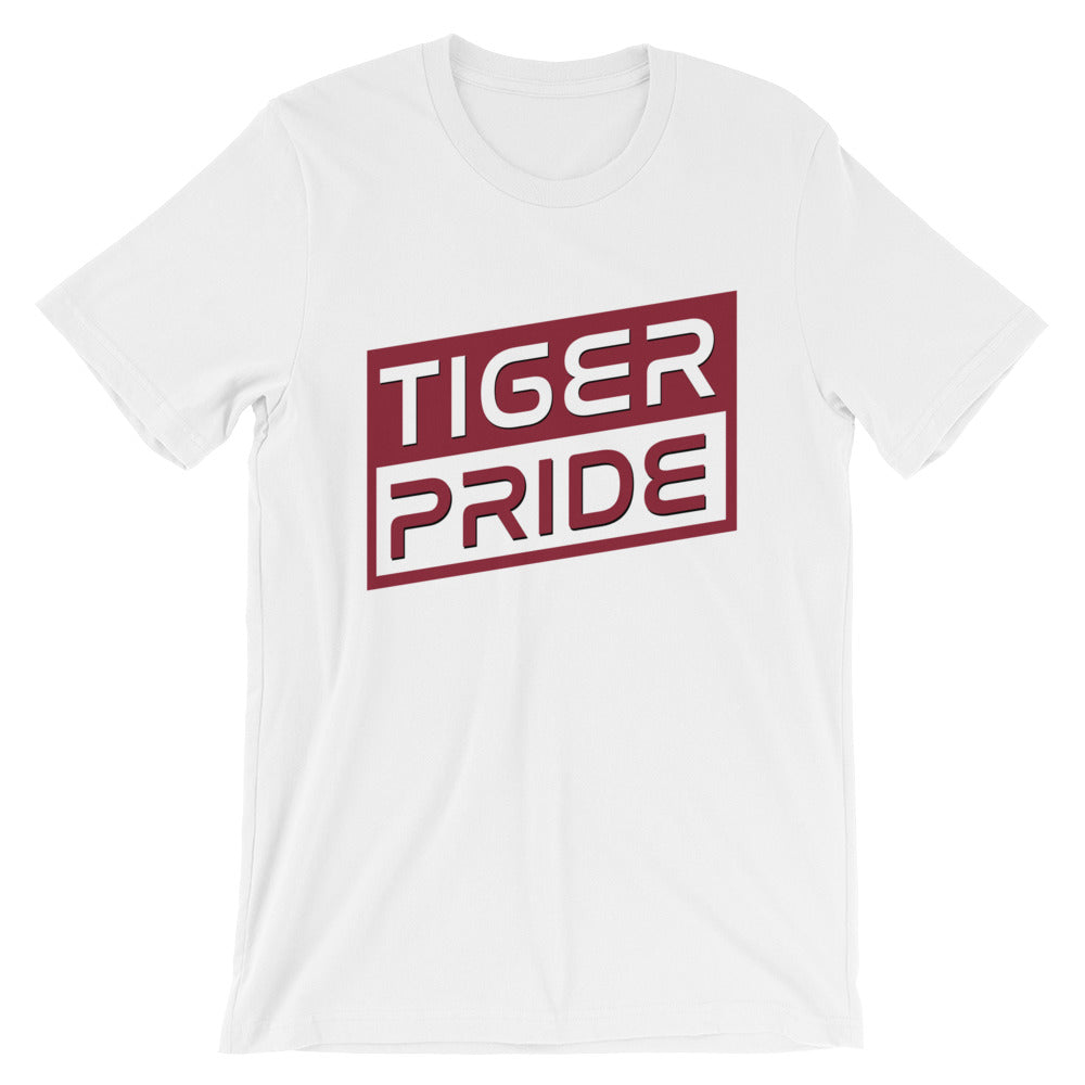 Texas Southern University Tiger Pride  Basic Short-Sleeve Unisex T-Shirt - We Wear Our HBCUs