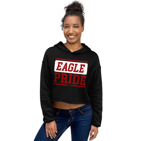 North Carolina Central Eagle Pride Crop Hoodie - We Wear Our HBCUs