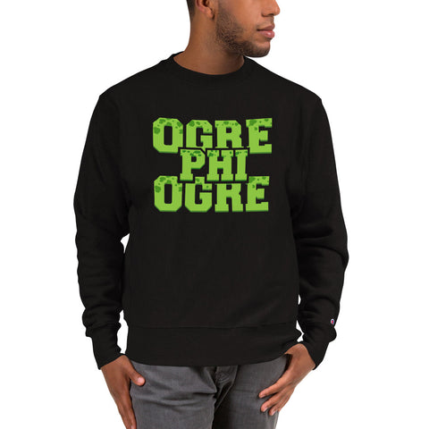 Hampton University Ogre Phi Ogre Champion Sweatshirt - We Wear Our HBCUs