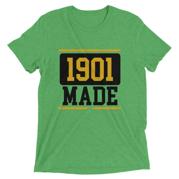 1901 MADE GRAMBLING STATE UNIVERSITY Short sleeve t-shirt - We Wear Our HBCUs