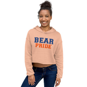 Morgan State University Bear Pride Cropped Hoodie - We Wear Our HBCUs