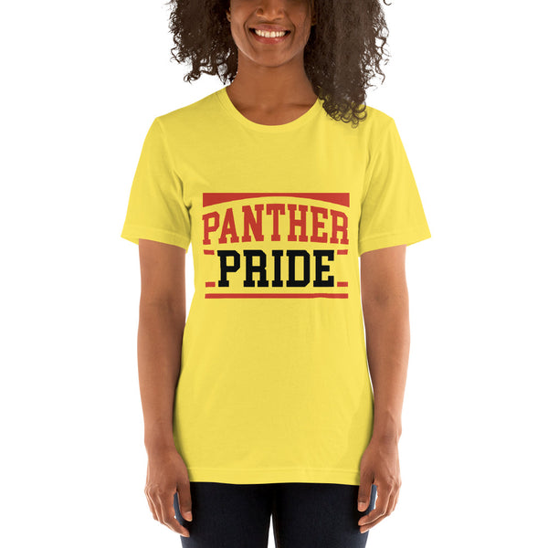 Panther Pride Claflin State University  Short-Sleeve Unisex T-Shirt - We Wear Our HBCUs