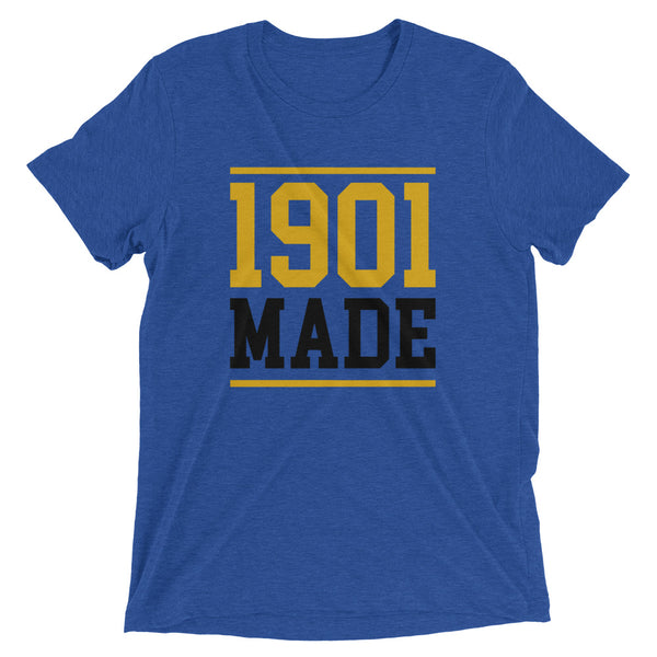 1901 MADE GRAMBLING STATE UNIVERSITY Unisex Tri-Blend T-Shirt - We Wear Our HBCUs