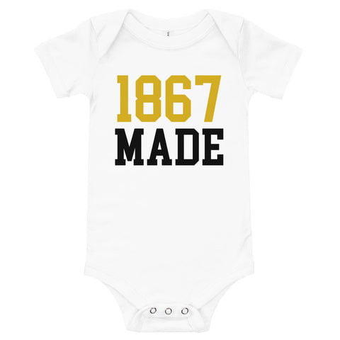 1867 Made Morgan State University Baby one piece Bodysuit