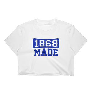 Hampton University 1868 Made  Ladies' Crop Top - We Wear Our HBCUs