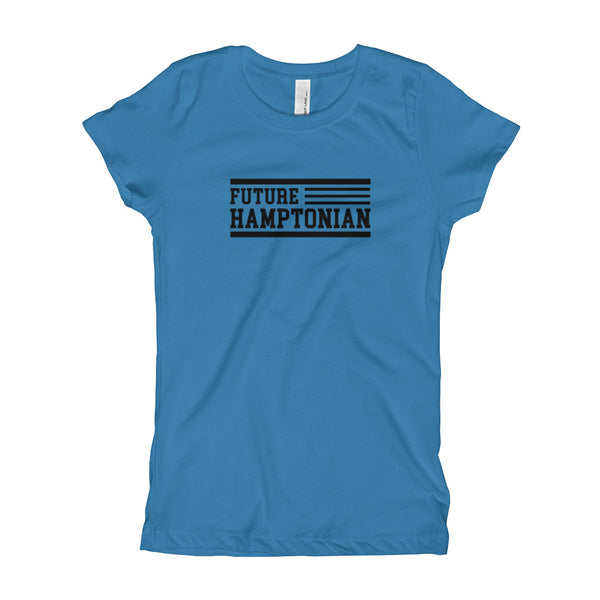 Future Hamptonian Girl's Slim Fit Tee T shirt - We Wear Our HBCUs
