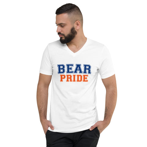 Morgan State University Bear Pride Unisex V-Neck T-Shirt - We Wear Our HBCUs