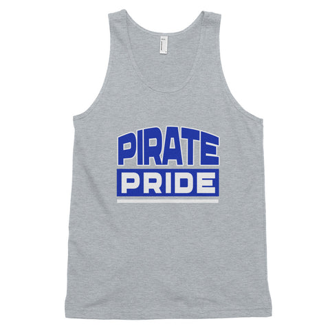 Pirate Pride | Hampton University | American Pride Unisex Classic Tank Top - We Wear Our HBCUs