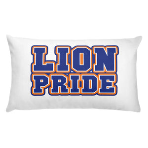 Lion Pride | Lincoln University | Accent Polyester Pillow For Your Home - We Wear Our HBCUs
