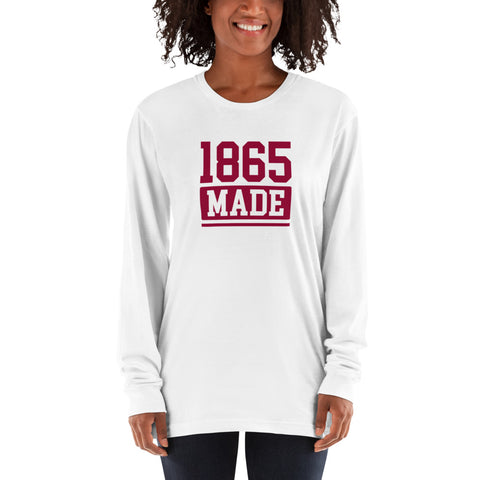 Virginia Union University 1865 Made Women's Long sleeve T-shirt - We Wear Our HBCUs
