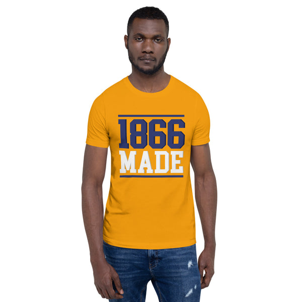 Lincoln University (MO) 1866 Made Basic T-Shirt up to 4XL - We Wear Our HBCUs