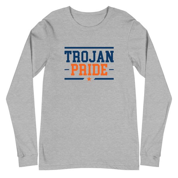 Viriginia State University Trojan Pride Unisex Long Sleeve Tee - We Wear Our HBCUs