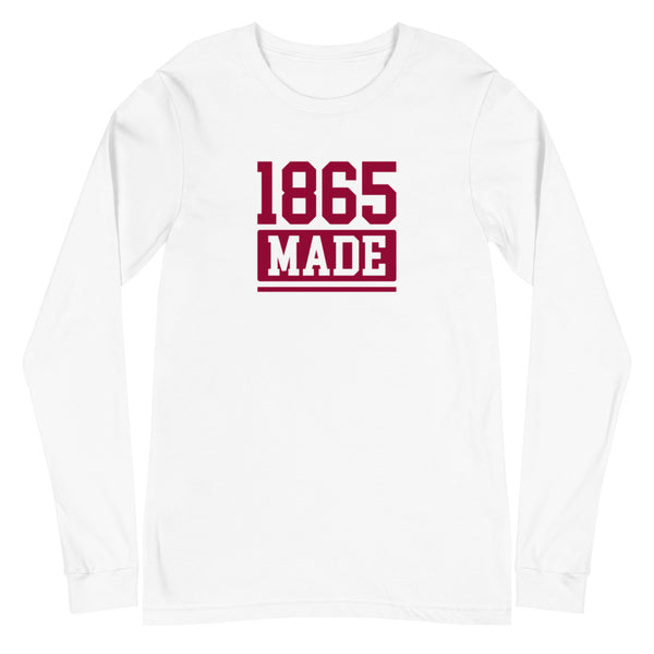 Virginia Union University 1865 Made Unisex Long Sleeve Tee - We Wear Our HBCUs