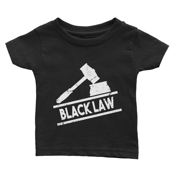 Black Law Classic Infant Sized Tee (6 months - 24 months) - We Wear Our HBCUs