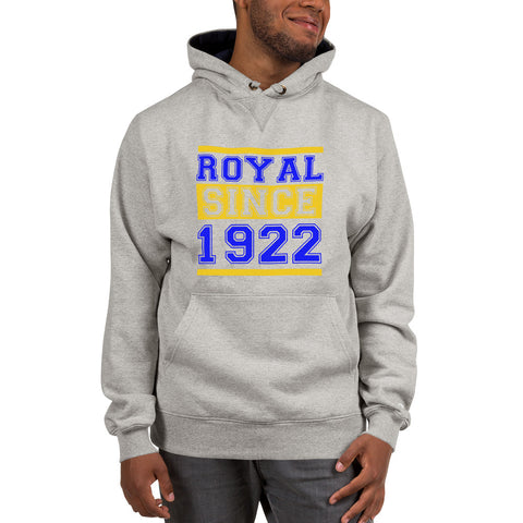Royal Since 1922 Unisex Champion Hoodie