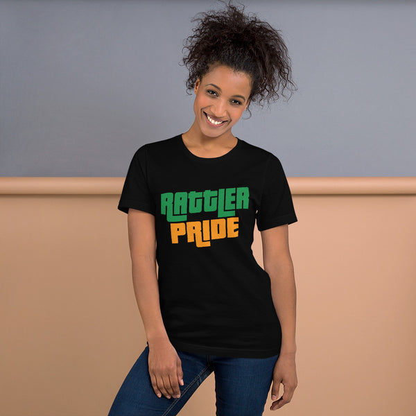 FAMU Florida A&M University Rattler Pride Basic Short-Sleeve Unisex T-Shirt - We Wear Our HBCUs
