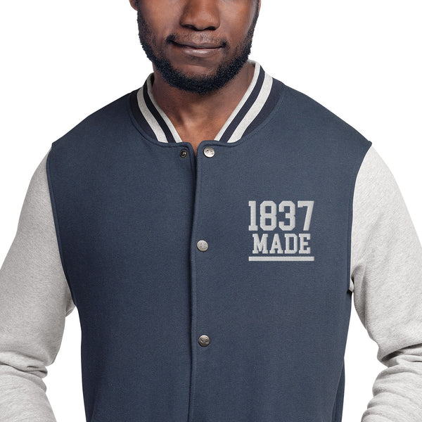 Cheyney University 1937 Made Embroidered Champion Bomber Jacket - We Wear Our HBCUs