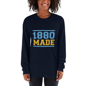 1880 Made Southern University A&M Long sleeve t-shirt - We Wear Our HBCUs