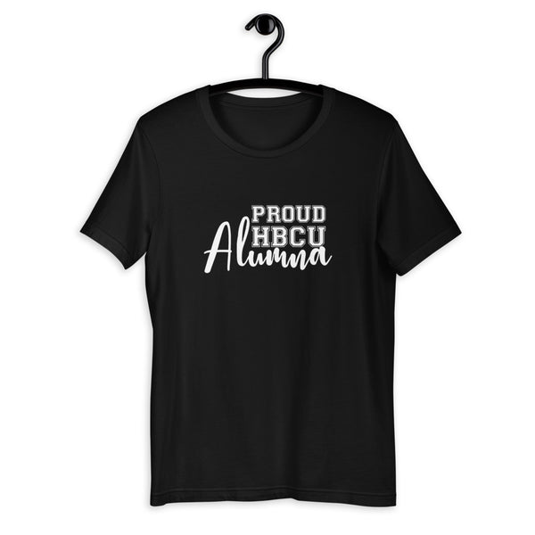 Proud HBCU Alumna Short-Sleeve Unisex T-Shirt - We Wear Our HBCUs