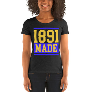 North Carolina A&T 1891 Made Ladies' short sleeve t-shirt - We Wear Our HBCUs