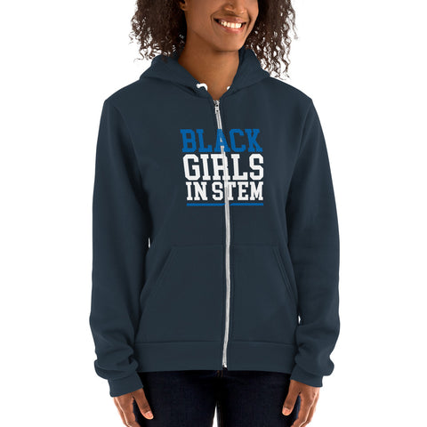 Black Girls In Stem Women's Hoodie Sweater - We Wear Our HBCUs