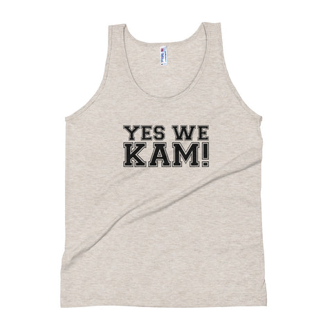 Yes We Kam Black Women's Tri-Blend Tank Top