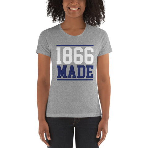 Lincoln University (MO) 1866 Made Women's Boyfriend Tee - We Wear Our HBCUs