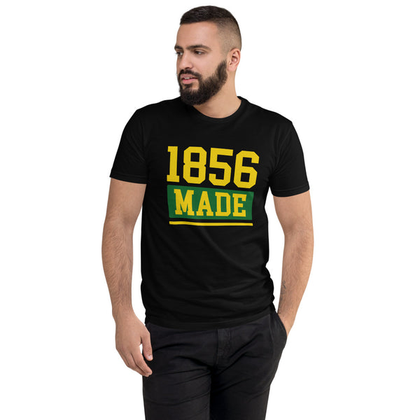 Wilberforce University 1856 Made Men's Fitted T-Shirt up to 3XL - We Wear Our HBCUs