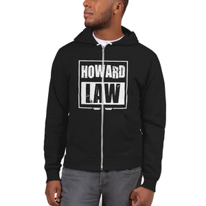 Howard Law  Howard University School of Law Fleece Hoodie sweater - We Wear Our HBCUs