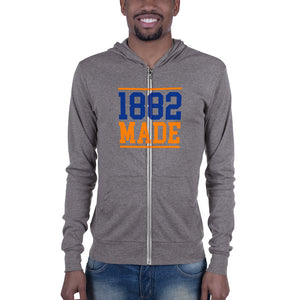 Virginia State University 1882 Made Unisex Zip Hoodie - We Wear Our HBCUs