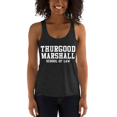 Thurgood Marshall School of Law Women's Tri-Blend Racerback Tank - We Wear Our HBCUs