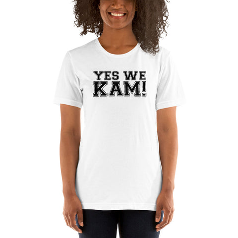 Yes We Kam Black Basic T-Shirt up to 4XL
