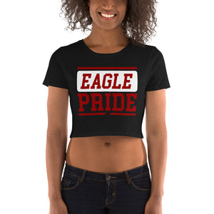 North Carolina Central Eagle Pride Women's Crop Tee - We Wear Our HBCUs