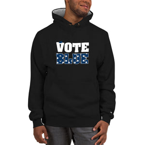 Vote Blue Champion Hoodie - We Wear Our HBCUs