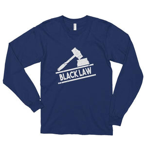 Black Law Long Sleeve Unisex T-shirt - We Wear Our HBCUs